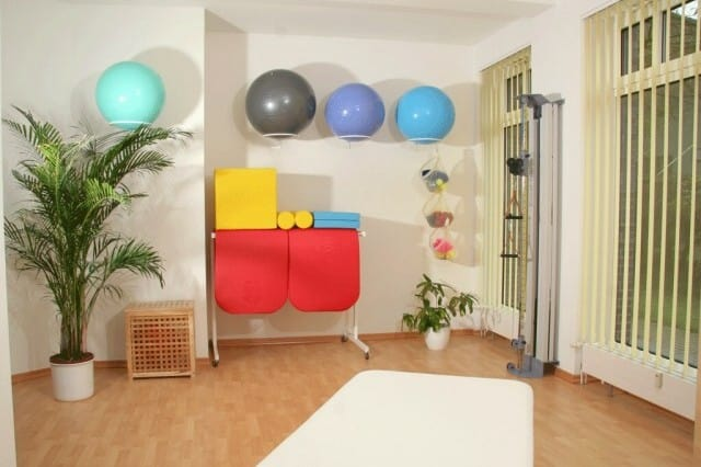 Behandlungsraum Praxis für Physiotherapie Juliane Danziger | Schneverdingen